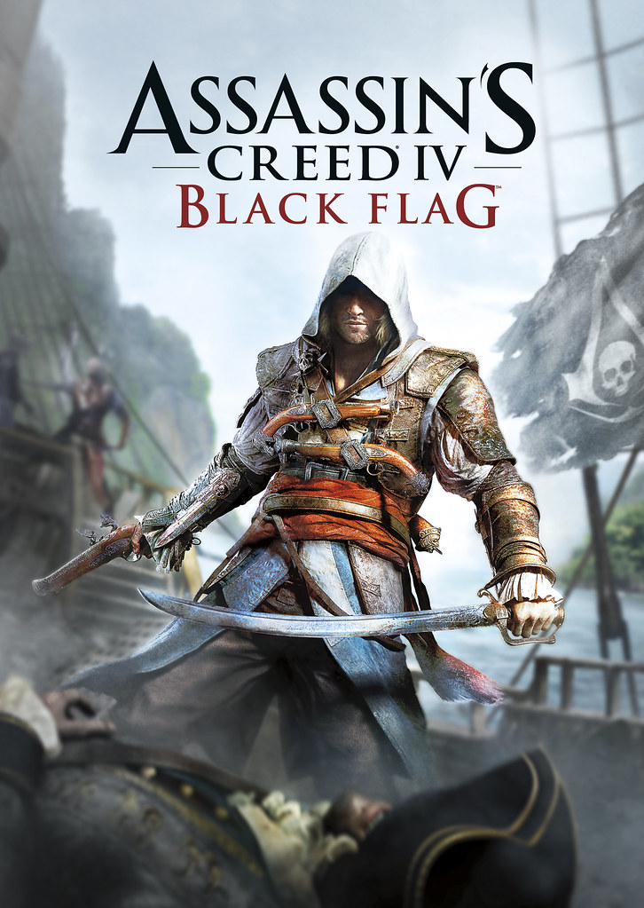 Assassin's Creed 4 Black Flag Cover